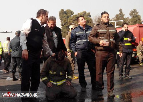 تصاویر آوار شدن پلاسکو تهران 18+