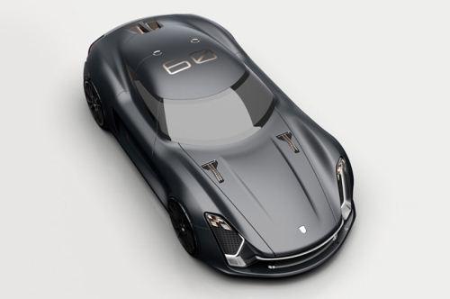 پورشه مدل 939، طرحی دیدنی برای آینده (عکس)