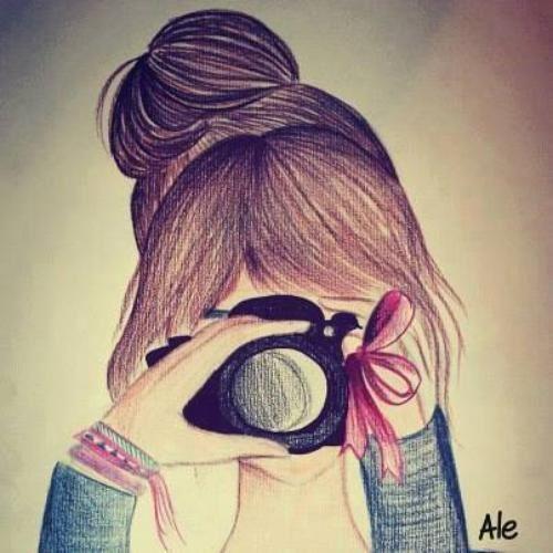 زیباترین دختران نقاشی شده برای پروفایل و شبکه های اجتماعی