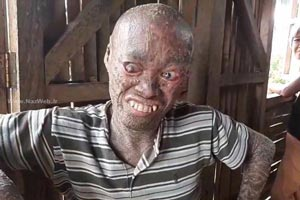 روح شیطانی و چهره ترسناک پسر این روزهای شبکه مجازی | تصاویر