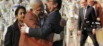 تصاویر خنده دار از نحوه احوالپرسی نخست وزیر هند