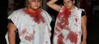 قمه زنی دختران بی حجاب در شب عاشورا ! + تصاویر