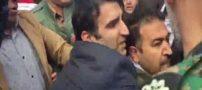 فیلم حمله خانواده داغدار مسافران هواپیما به وزیر راه
