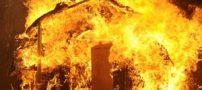 آتش سوزی کارخانه 2 هزار متری تهران + تصاویر