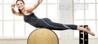 ورزش پیلاتس و آموزش تصویری برای لاغر شدن