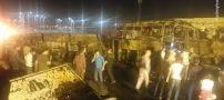 تصادف آتشین و هولناک در سنندج / 3 روز عزای عمومی + تصاویر و فیلم