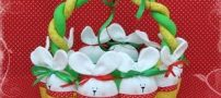 آموزش تصویری دوخت سبد نان به شکل خرگوش