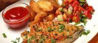 شام رژیمی مرغ گریل شده با سبزیجات + دستور تهیه و طبخ
