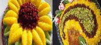 سبک جدید پلوآرایی   تزئین آلبالو پلو   دستورالعمل پخت پلو آلبالو
