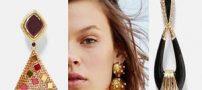 جدیدترین مدل گوشواره های لوکس برند زارا   مدل زیورآلات و جواهرات