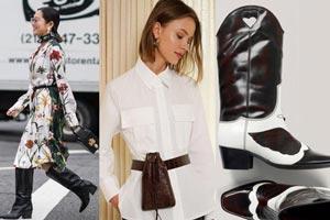 مد لباس و اکسسوری های شیک پاییزی زنانه 2019   مدل بیلرسوت، کیف و کفش